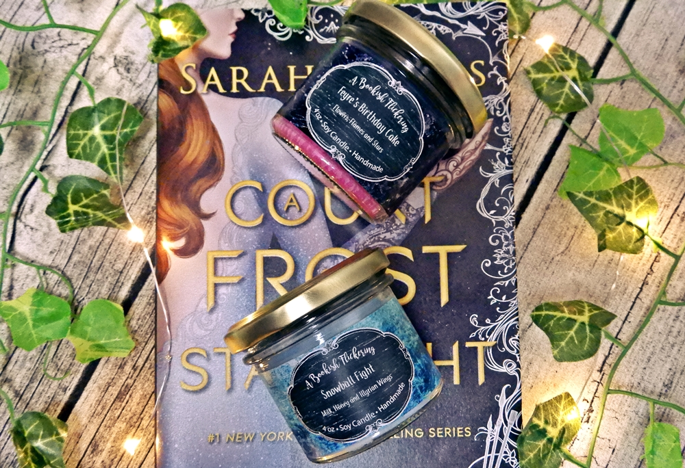 bookish candle a court of frost and starlight flickering sarah j maas 2