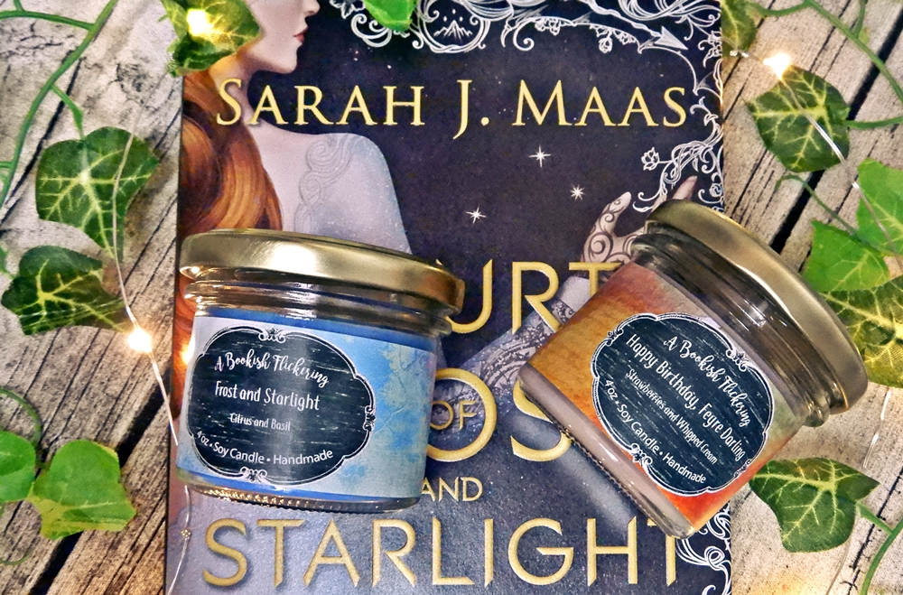 bookish candle a court of frost and starlight flickering sarah j maas.JPG
