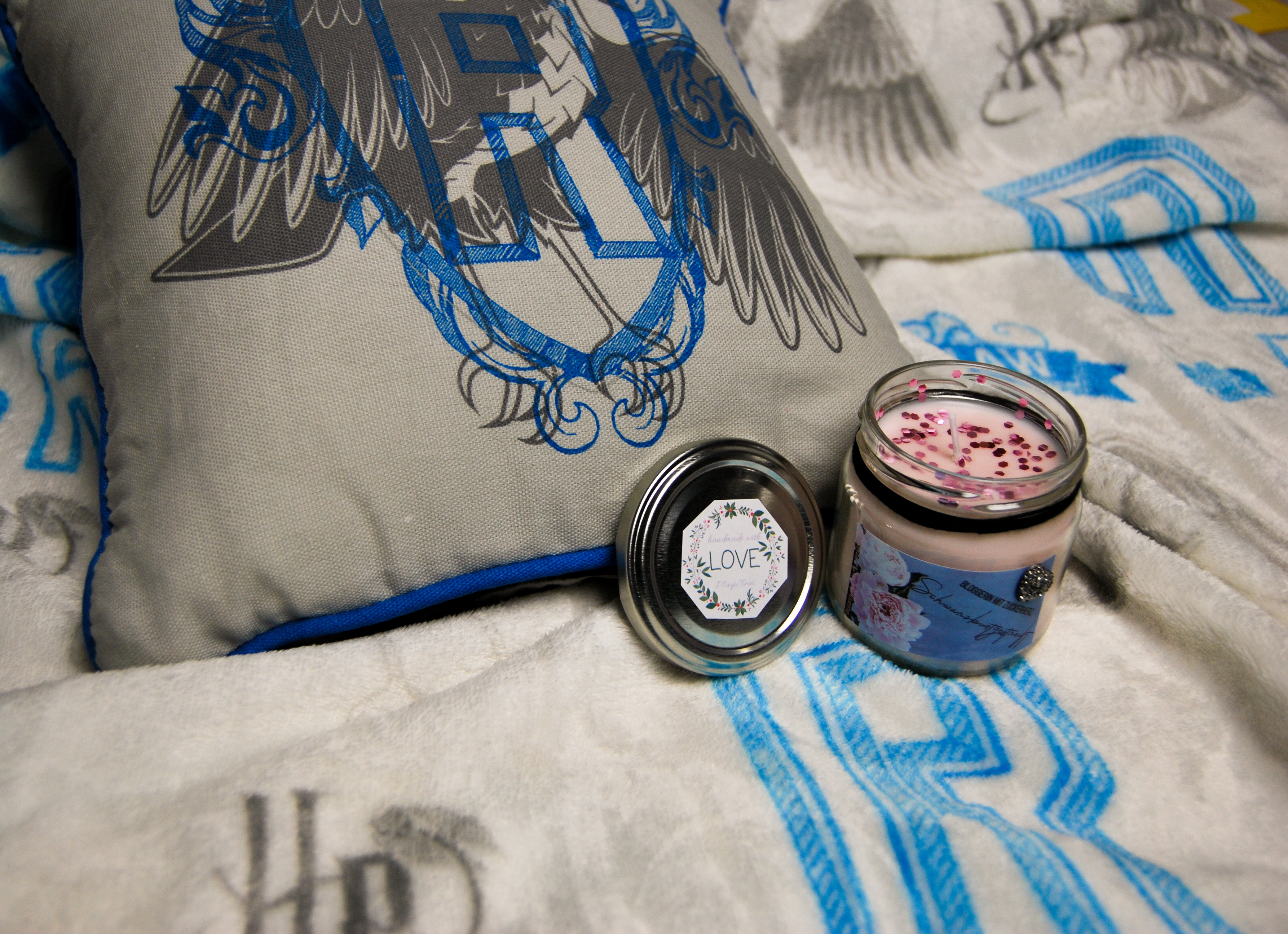Primark Ravenclaw bookish candle Magictimes