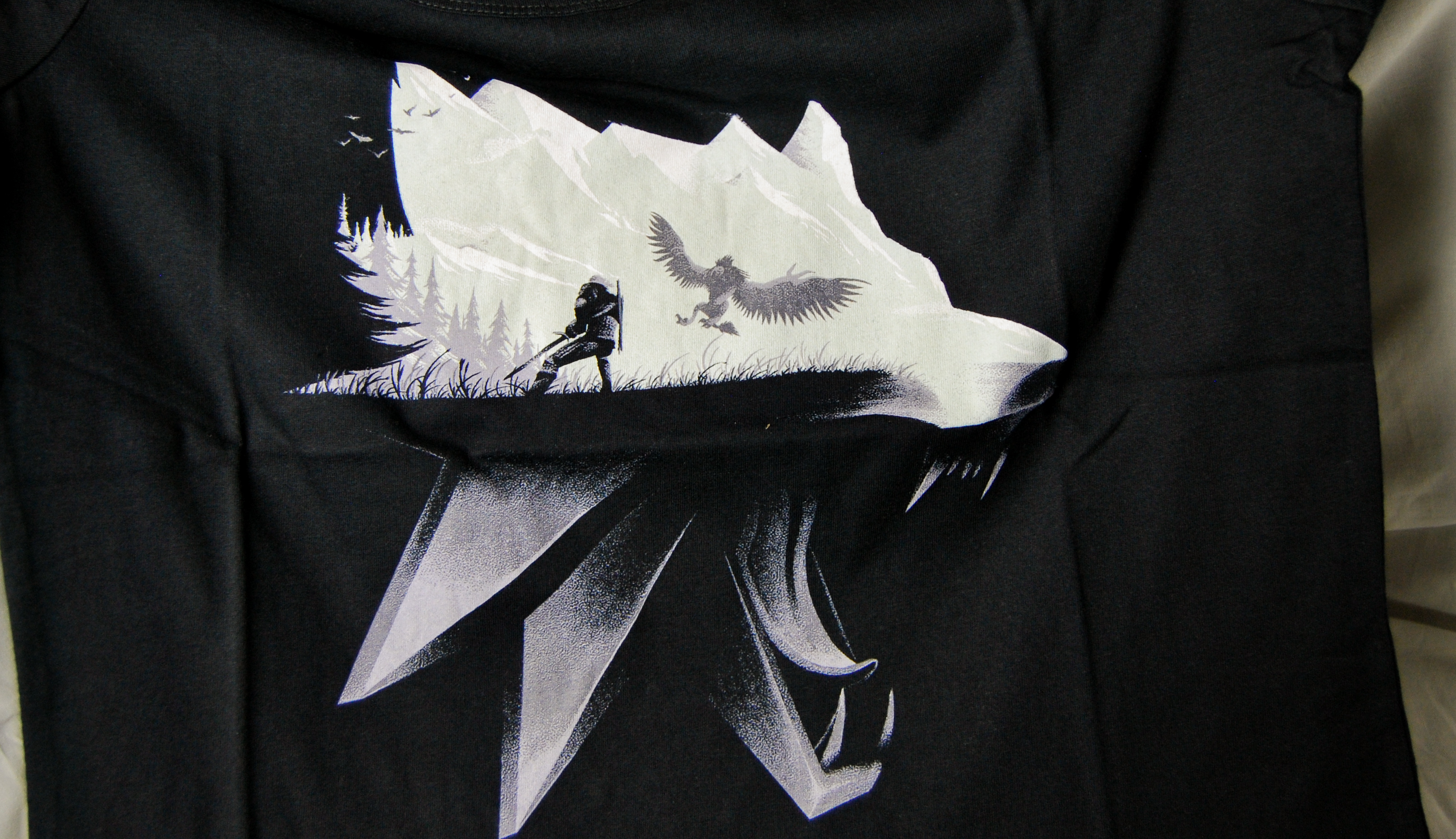 Wootbox September Magic The Witcher Shirt