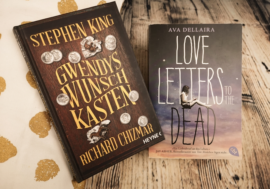 Stephen King Ava Dellaira Love letters to the dead Gwendys Wunschkasten cbt Heyne.jpg